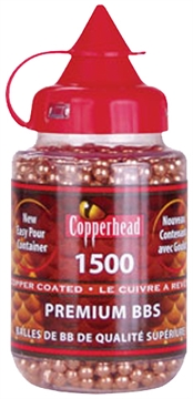 Picture of Crosman 0737 Copperhead Bbs  .177  Copper-Coated Steel 1500 Carton