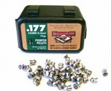 Picture of Crosman .177 Pointed Pellets 250/Cd