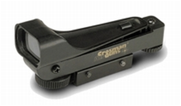"Picture of Crosman Wide View Red Dot Sight, For Airgun W/ Standard 3/8"" Dovetail Mount"