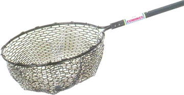 """Picture of Cumings 3 Net 22"""" RD Bow 38""""-70"""" Tele Hdl Rubber Mesh"""