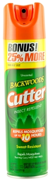 Picture of Cutter 53656 Backwoods Aerosol Insect Repellant Insect Repellent Mosquito, Gnat,