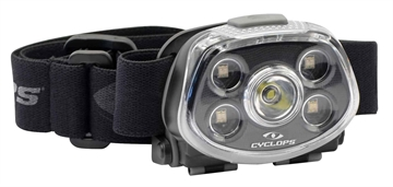 Picture of Cyclops Cychlfxp Force XP Headlamp 350/15 Lumens Aaa (3) Black