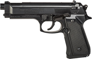 Picture of Daisy 0340 Powerline Model 340 Air Pistol .177 BB 200Rd 240 Fps Syn Stk Blk