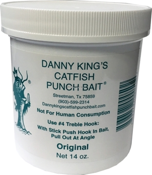 Picture of Danny Kings Catfish Punch Bait- Original, 14 OZ