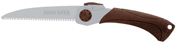 """Picture of Dead Deer Ddhs Hand Saw 6.5"""" Stainless Steel 15.5"""" Oal Rubber Handle"""