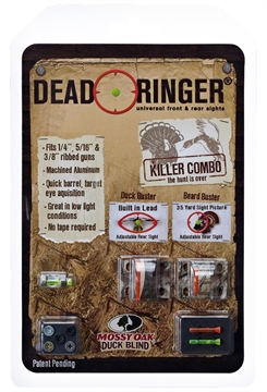 Picture of Dead Ringer Dr4362 Killer Combo Mossy Oak Turkey/Wingshooting Sight