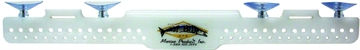 """Picture of Deep Blue Acrylic Lure Rack 18"""" W/Knife Slots"""