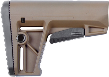 Picture of Defiance Stock Ds150 Fde Fits Ar-15 Mil-Spec Tubes