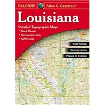Picture of Delorme Atlas/Gaz Louisiana