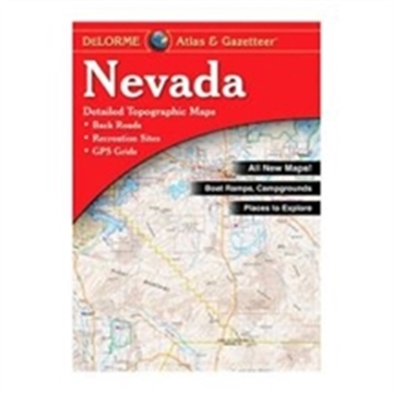 Picture of Delorme Atlas/Gaz Nevada