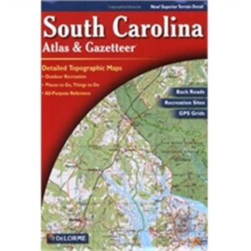Picture of Delorme Atlas/Gaz S Carolina