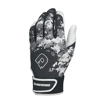 Picture of Demarini Digi Camo II Adult Batting Glove-Black Large