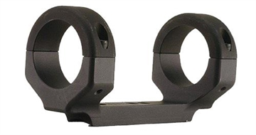 """Picture of Dnz 11084 1-Pc Base & Ring Combo For Ruger 10/22 1"""" Rings High Black Matte Finish"""