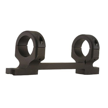 """Picture of Dnz 14700 1-Pc Base & Ring Combo For Remington 700 Short Action 1"""" Rings Low Black Matte Finish"""