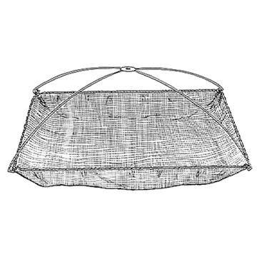 "Picture of Douglas Net Net Umbrella 42"" Poly"