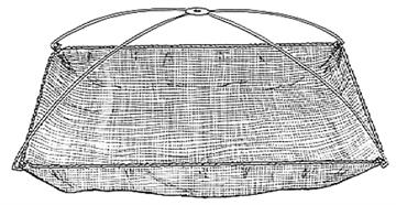 Picture of Douglas Net Net Umbrella-Nylon N042