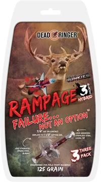 Picture of Downrange Mfg Rampage 125-Gr 3 Blade