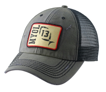 Picture of 13 Fishing Fishing Hat Gob Grey/Charcoal