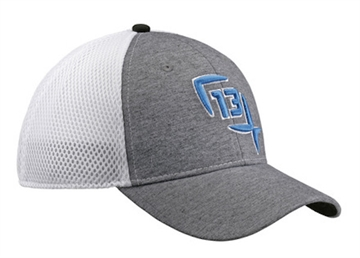 Picture of 13 Fishing Fishing Hat Heather/Blue Logo DUKE-FFM