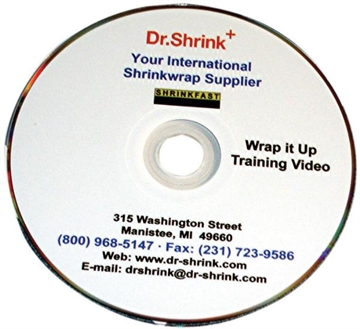 Picture of Dr. Shrink Compact Disc Wrap IT