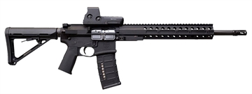 """Picture of Drd Tact Cdr15-B300 Cdr-15 Qbd Semi-Auto 300 Aac 16"""" 30+1 Blk Magpul Stk Blk"""