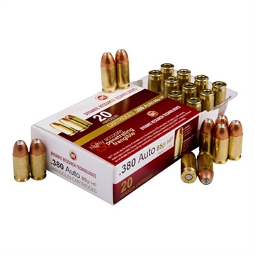 Picture of Drt Terminalshock Ammo 380 Auto 85 GR Jhp 20/Bx