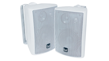 """Picture of Dual Electronics Corp 4"""" 3-Way Speaker - White"""