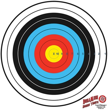 "Picture of Dura Mesh Mesh Archery Target 80Cm Fita Target 30"" Bullseye"