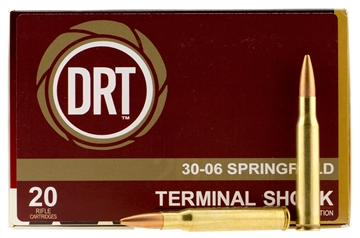 Picture of Dynamic Research Tech 00108 Thermal Shock 30-06 Springfield 150 GR Boat Tail Hollow Point 20 Bx/ 50 CS