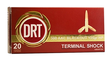 Picture of Dynamic Research Tech 00125 Thermal Shock 300 Aac Blackout/Whisper (7.62X35mm) 1
