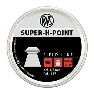 Picture of Dynamit Nobel - Rws Super-H-Point 177Cal 500Ct