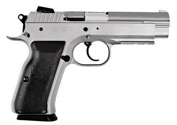 "Picture of Eaa 999102 Witness Full Size Steel 40 S&W 4.5"" 14+1 Blk Syn Grip Wonder Finish"