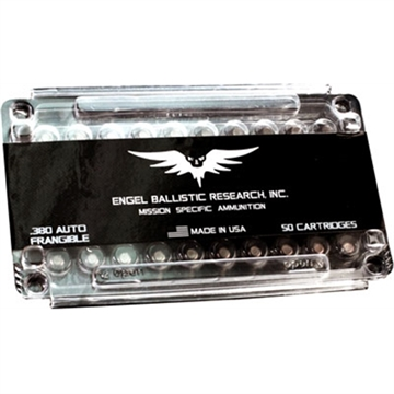 Picture of Ebr Ammo .380Acp 75Gr. Frangible 50-Pack