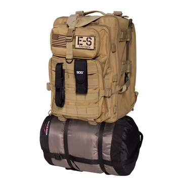 Picture of Echo-Sigma Emergency Bug Out Bag Coyote
