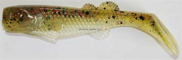 "Picture of Edge Hybrid Flurry Minnow Swimbait, 3"", Avo-Glow, Floating, 10/Carton"