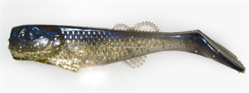 """Picture of Edge Hybrid Flurry Minnow Swimbait, 3"""", Gold Chovey, Floating, 10/Carton"""