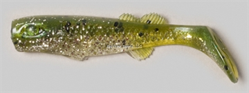 "Picture of Edge Hybrid Flurry Minnow Swimbait, 3"", Greenback, Floating, 10/Carton"
