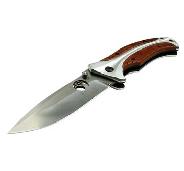 Picture of Elk Ridge Ere-Fdr011-Br Folder 3.7 IN Blade Pakkawood Handle