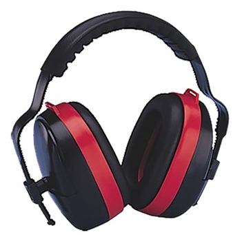 Picture of Elvex Corp En352 Maximuff Earmuff Nrr 28 DB Black/Red