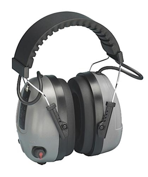 Picture of Elvex Corp Rcom-655 Impulse Level Dependent Electronic Muffs Nrr 25Db Gray