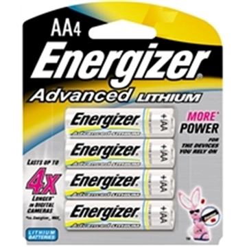 Picture of Energizer Advanced Lithium AA 4Pk