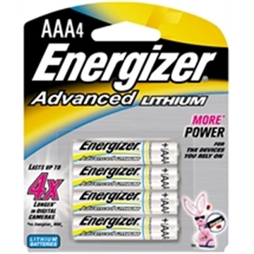 Picture of Energizer Advanced Lithium Aaa 4Pk
