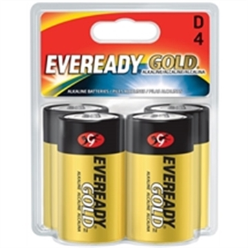 Picture of Eveready   Gold Alk D 4Pk