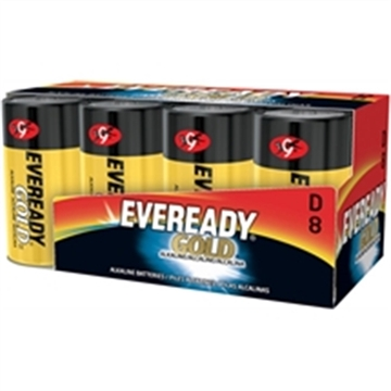 Picture of Energizer Eveready Gold Alk D 8Pk