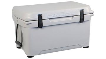 Picture of Engel 35 Deep Blue Cooler Light Gray Color