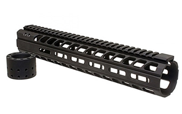 "Picture of Ergo   Modular M-Lok 12"" Rail Blk"
