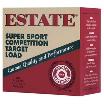 "Picture of Estate Ss2875 Special Buy Super Sport Target 28 Gauge 2.75"" 3/4 OZ Shot 25 Bx/"