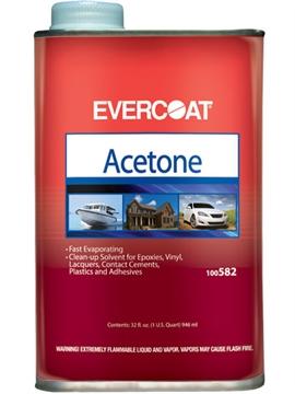 Picture of Evercoat Acetone QT