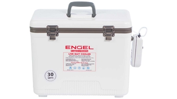 Picture of Engel 30 QT Live Bait Cooler W/Aerator & Net White