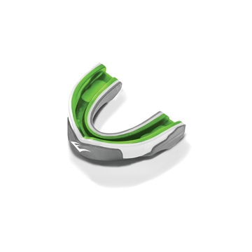 Picture of Everlast Evergel Single Mouthguard Green/Grey